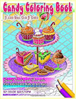 Color Questopia - Candy Coloring Book - Color By Number