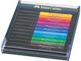 Faber Castell Pitt Artist Pen Brush sets - 12 stuks