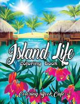 Coloring Book Cafe - Island Life