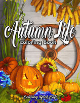 Coloring Book Cafe - Autumn Life