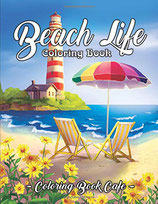 Coloring Book Cafe - Beach Life