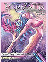 Color Questopia - Mythical Mermaids Mosaic - Color By Number