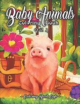 Coloring Book Cafe - Baby Animals 2