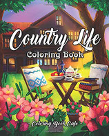 Coloring Book Cafe - Country Life