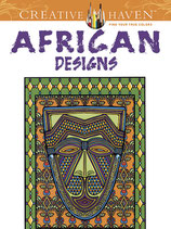 African Designs Coloring Book