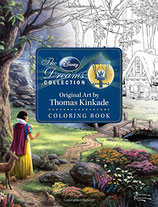 The Disney Dreams Collection Original Art by Thomas Kinkade
