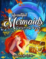 Coloring Book Cafe - Beautiful Mermaids