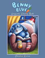 Cristine Karron - Benny Blue Grayscale