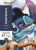 Coloriages Mystères Disney Portraits - Kleuren op Nummer