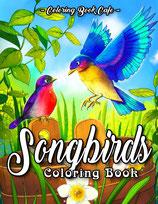 Coloring Book Cafe - Songbirds