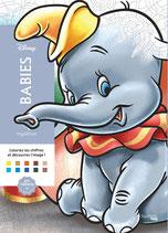 100 Coloriages Mystères Disney Babies - Kleuren op nummer