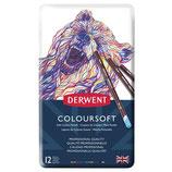 Derwent Coloursoft - 12 stuks