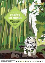 Forêts du Monde 100 coloriage Mystères - kleuren op nummer