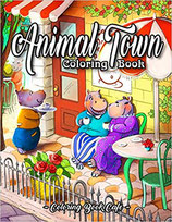 Coloring Book Cafe - Animal Town