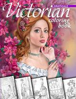 Alena Lazareva - Victorian Grayscale Coloring Book