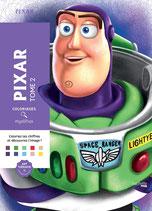 Coloriages Mystères Pixar 2 - Kleuren op Nummer
