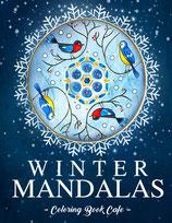 Coloring Book Cafe - Winter Mandalas