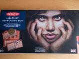 Derwent Lightfast 100 Colour Wooden Box