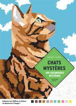 Chats Mystères - kleuren op nummer