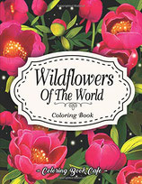 Coloring Book Cafe - Wildflowers of the World