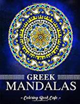 Coloring Book Cafe - Greek Mandalas