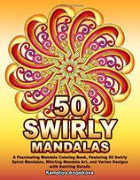 Kameliya Angelkova - 50 Swirly Mandalas