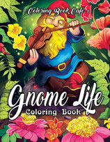 Coloring Book Cafe - Gnome Life