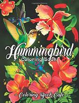 Coloring Book Cafe - Hummingbird