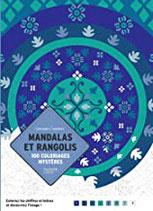 Coloriages Mystères Mandalas et Rangolis - Kleuren op Nummer