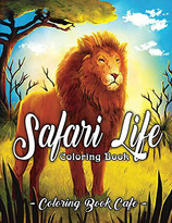 Coloring Book Cafe - Safari Life