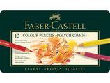 Faber Castell Polychromos - 12 stuks