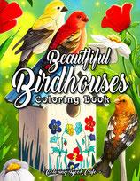 Coloring Book Cafe - Beautiful Birdhouses