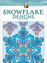 Snowflake Designs Coloring Book