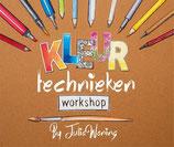 Julia Woning - Kleurtechnieken workshop