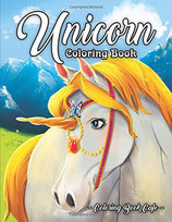 Coloring Book Cafe - Unicorn