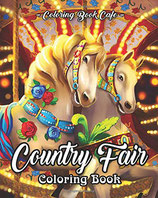 Coloring Book Cafe - Country Fair
