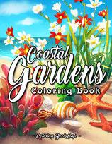 Coloring Book Cafe - Coastal Gardens
