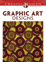 Graphic Art Designs Coloring Book