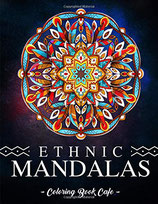 Coloring Book Cafe - Ethnic Mandalas