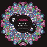 Het enige echte mandalakleurboek - Black Edition