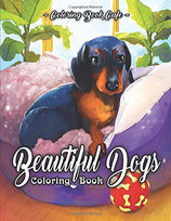 Coloring Book Cafe - Beautiful Dogs