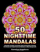 Kameliya Angelkova - 50 Nighttime Mandalas