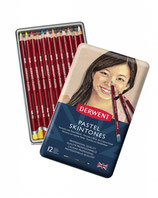 Derwent Pastel 12 Pencils Skintones