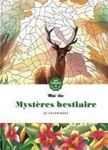 Mini bloc Mystères Bestiaire  - Kleuren op nummer
