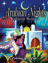 Coloring Book Cafe - Arabian Nights