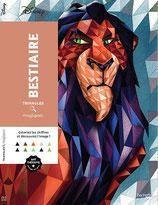 Triangles Magiques Disney Bestiaire - Kleuren op nummer