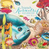Julia Woning - Tropisch koraalrif kleurboek
