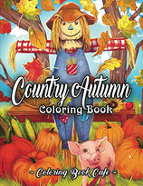 Coloring Book Cafe - Country Autumn