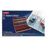 Derwent Watercolour Wooden box - 72 stuks