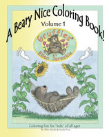 A Beary Nice Coloring Book, Volume 1